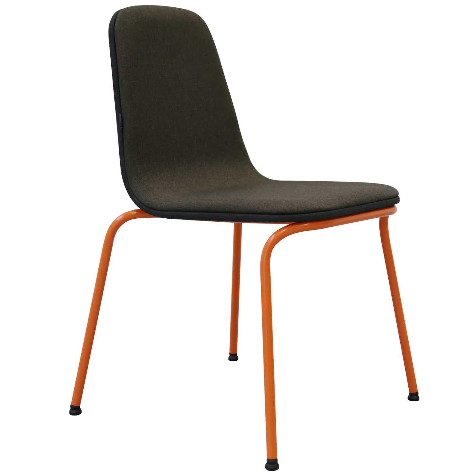 Bogaerts Label Grey Orange Siren Chair Haute Living