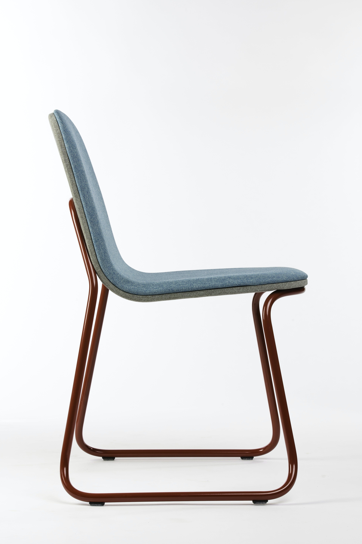 Bogaerts Label Blue Siren Chair Side Haute Living
