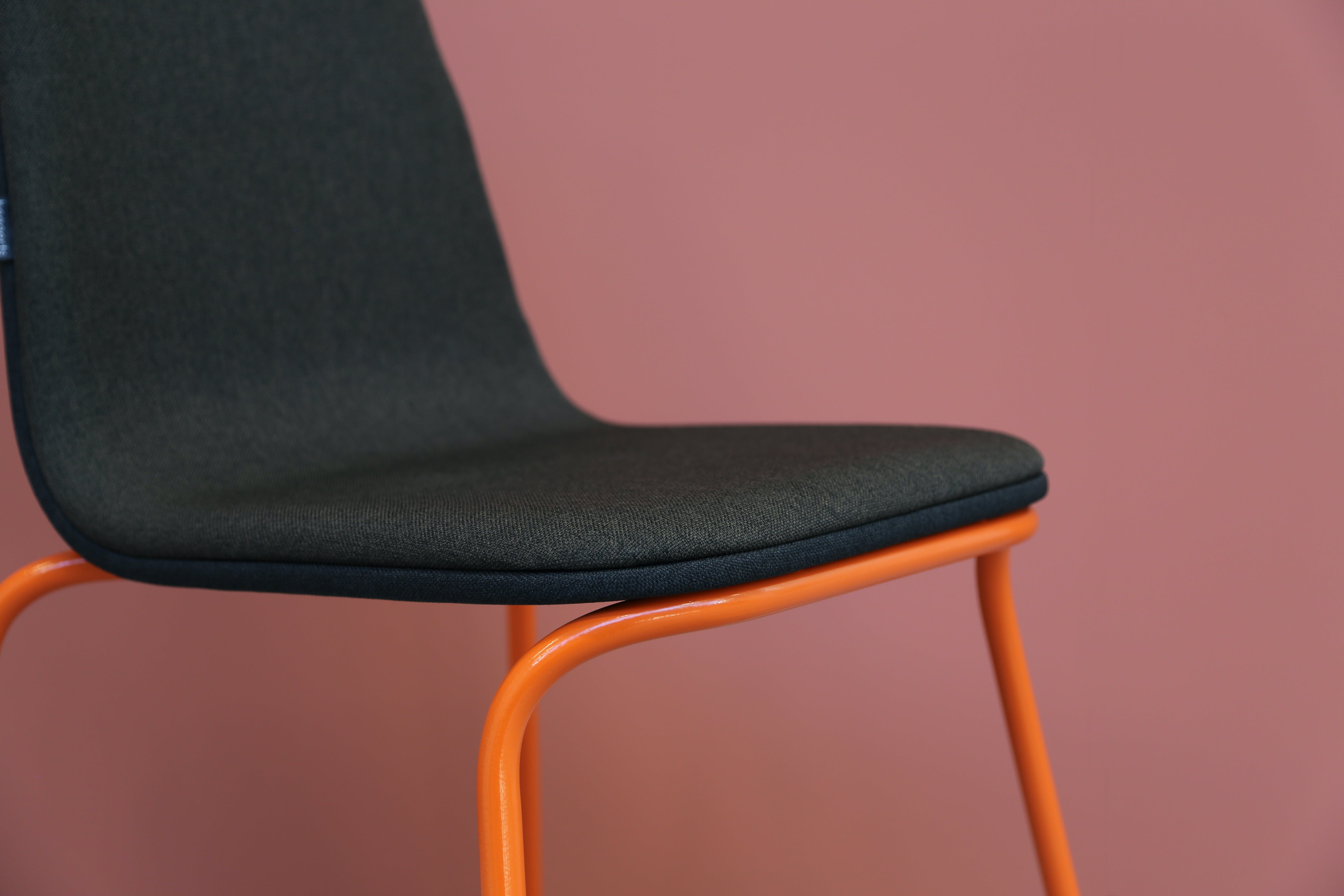Bogaerts Label Siren Chair Orange Frame Detail Haute Living
