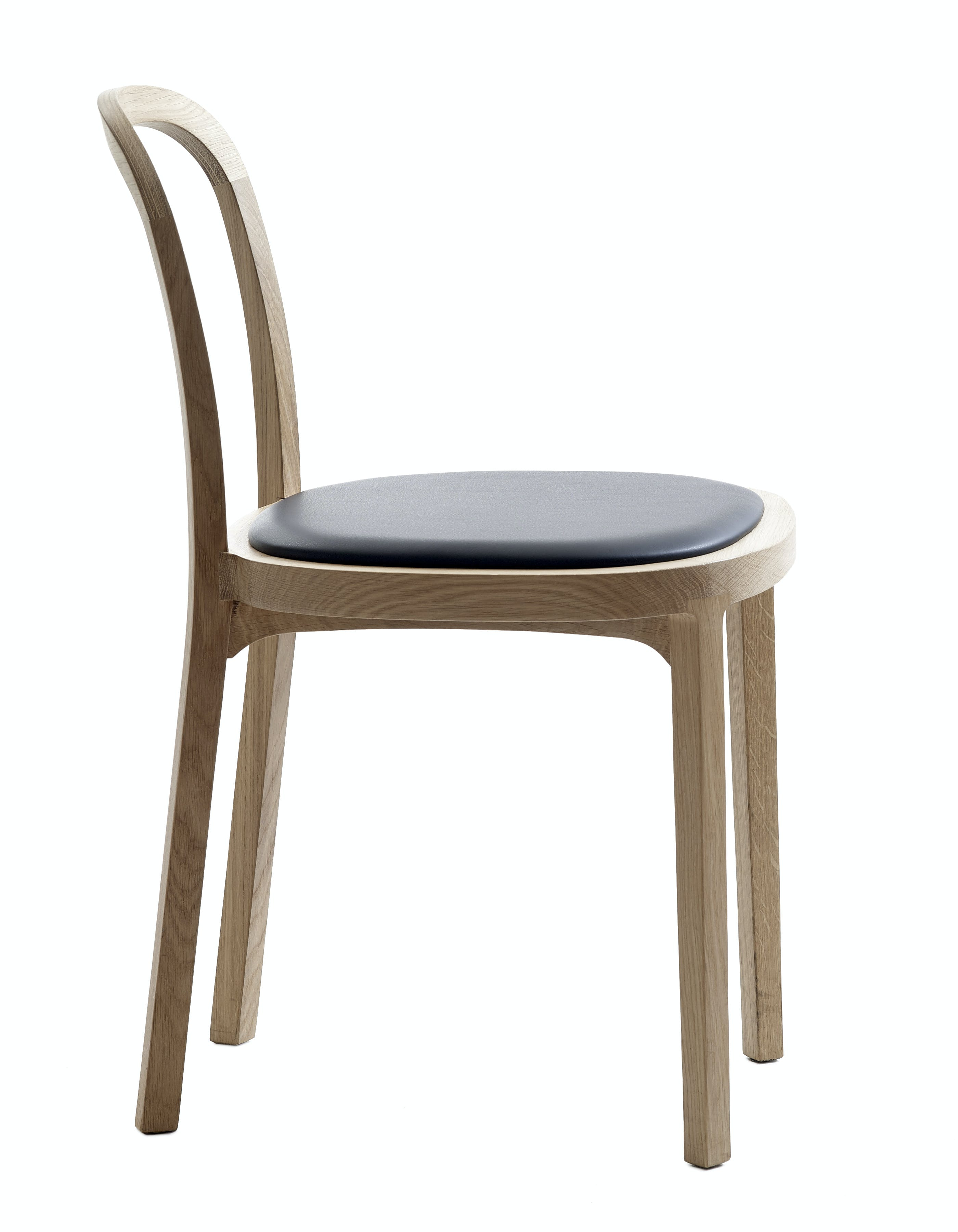 4410 Siro Chair Leather Upholstered Seat 1
