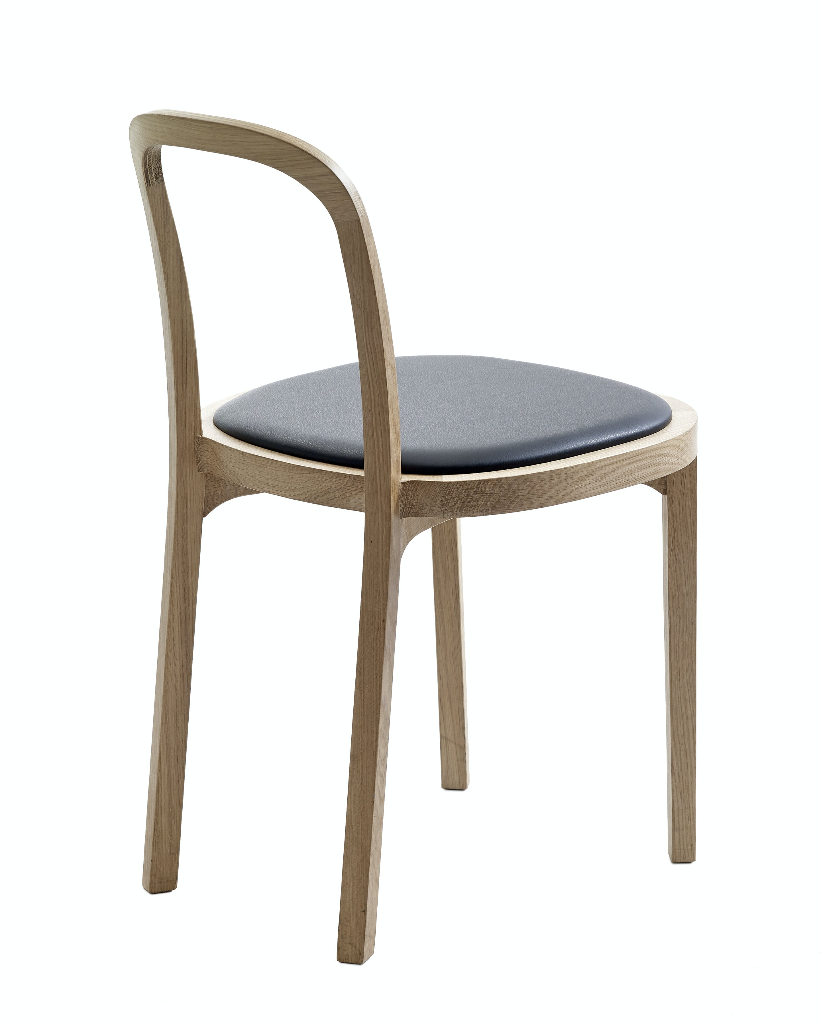 4410 Siro Chair Leather Upholstered Seat 3