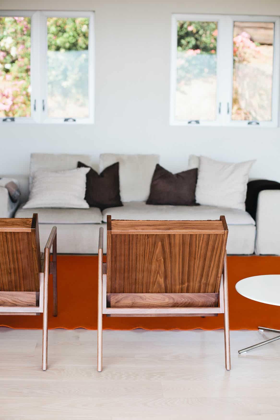 Sitskie Block Armchair Insitu Back Haute Living