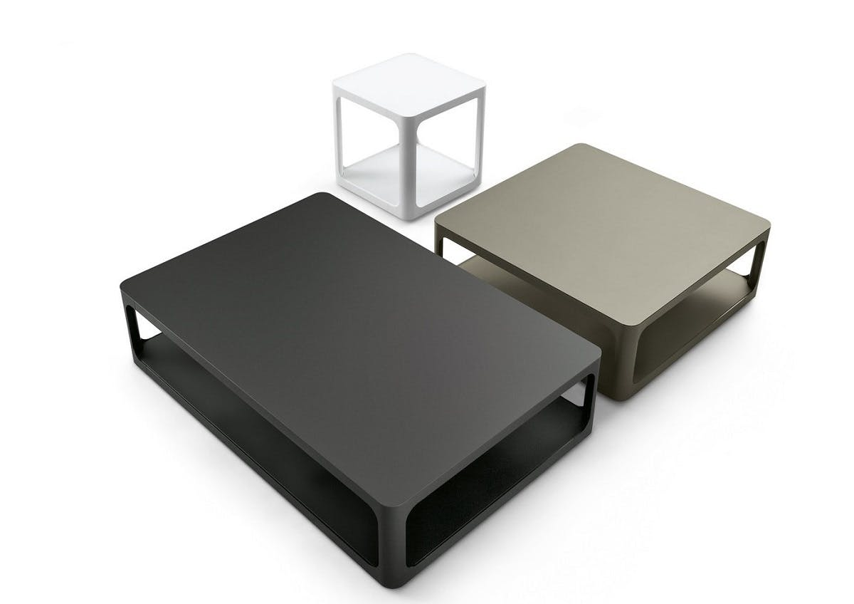Rimadesio Sixty Coffee Tables Trio Haute Living
