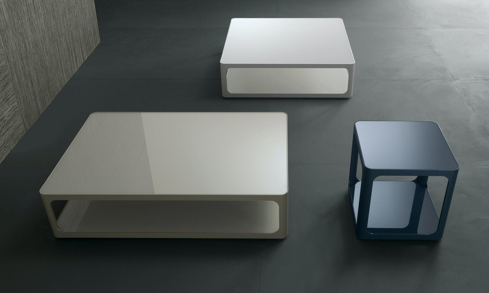 Rimadesio Sixty Coffee Tables Trio Insitu Haute Living