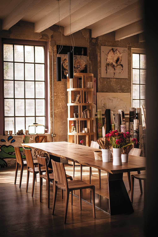 Riva 1920 Sleek Dining Table Insitu Haute Living