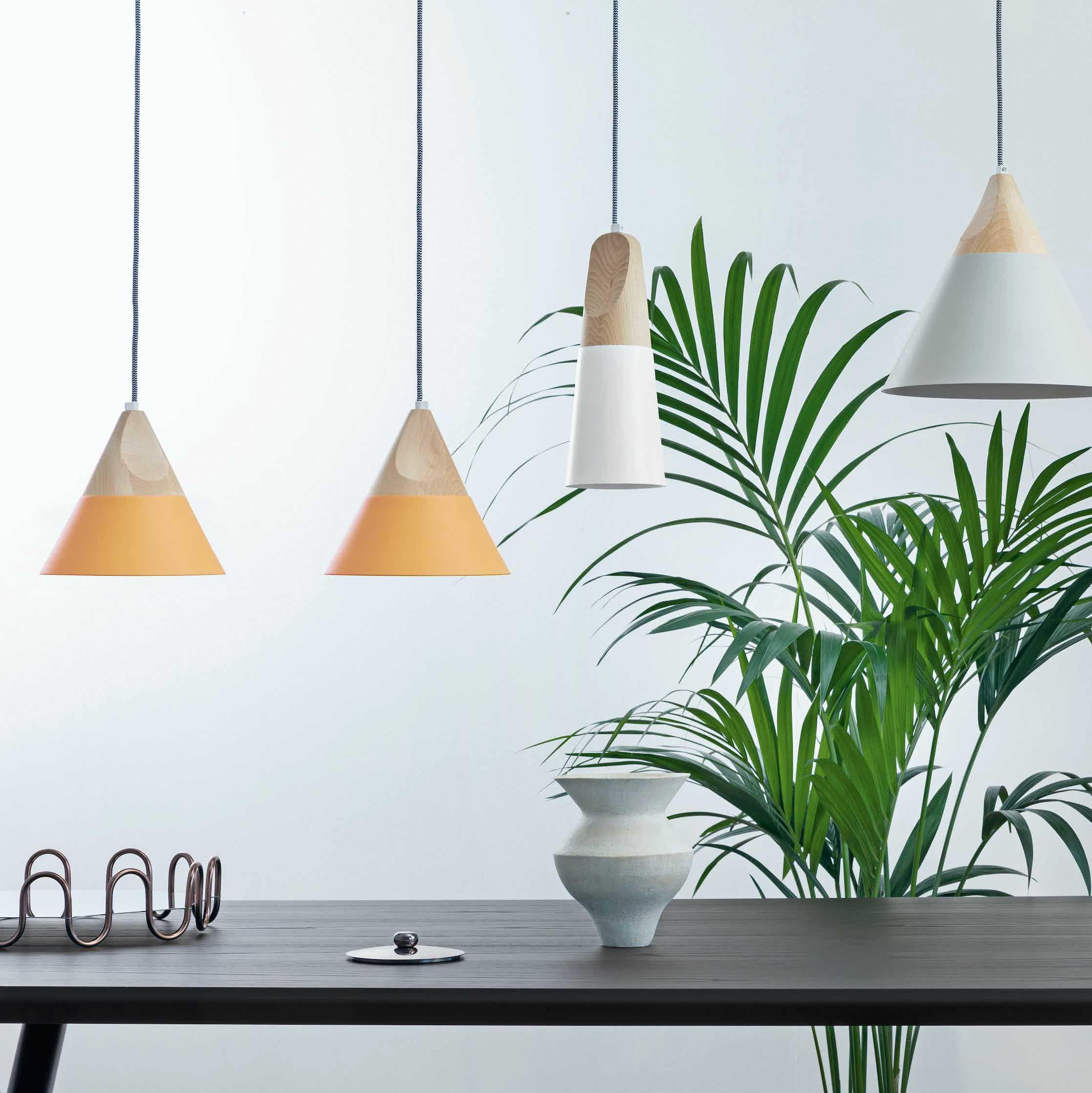 Miniforms Slope Pendant Green Haute Living