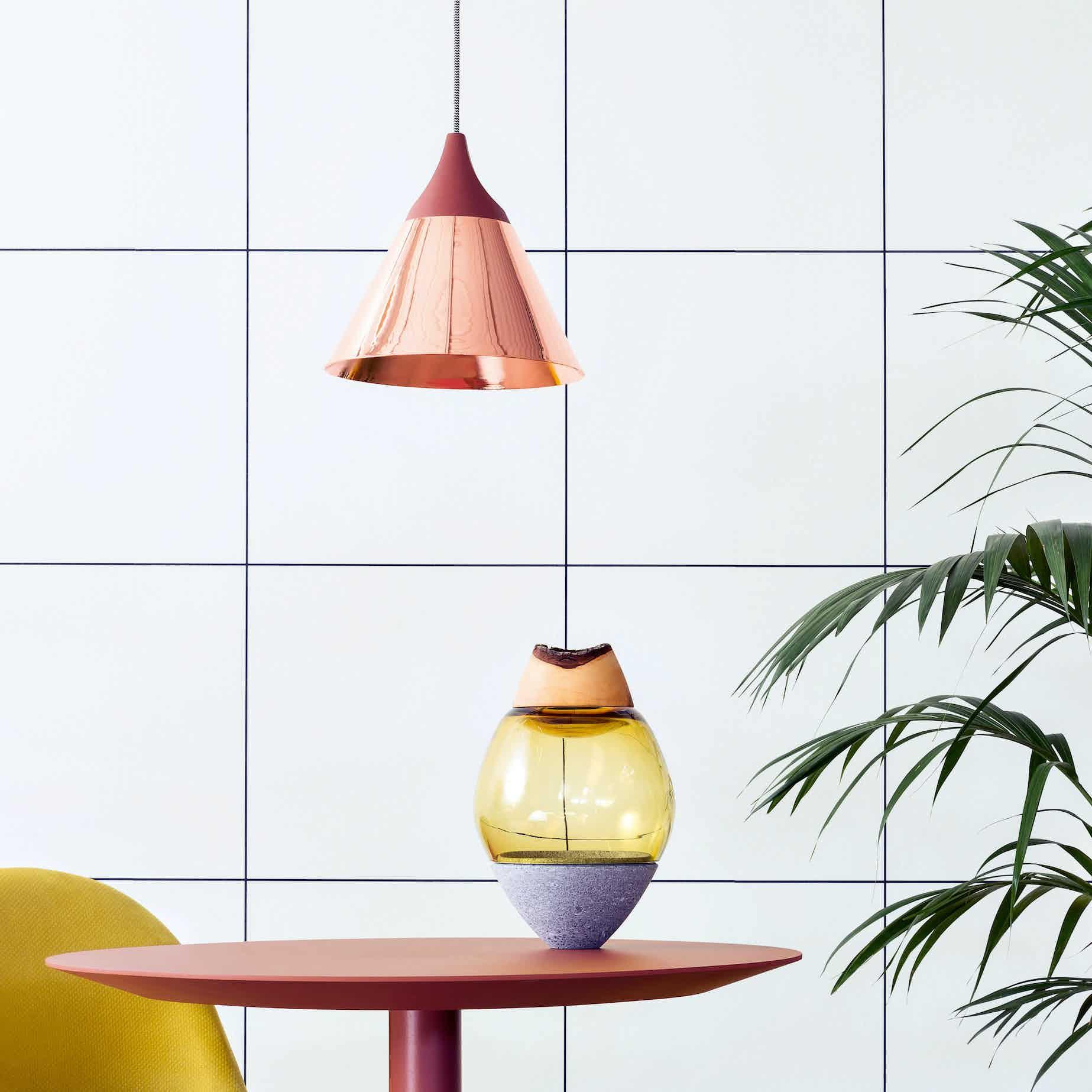 Miniforms Slope Pendant Grid Haute Living