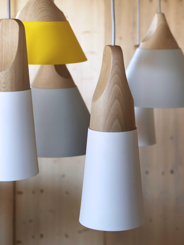 Miniforms Slope Pendant Group Detail Haute Living