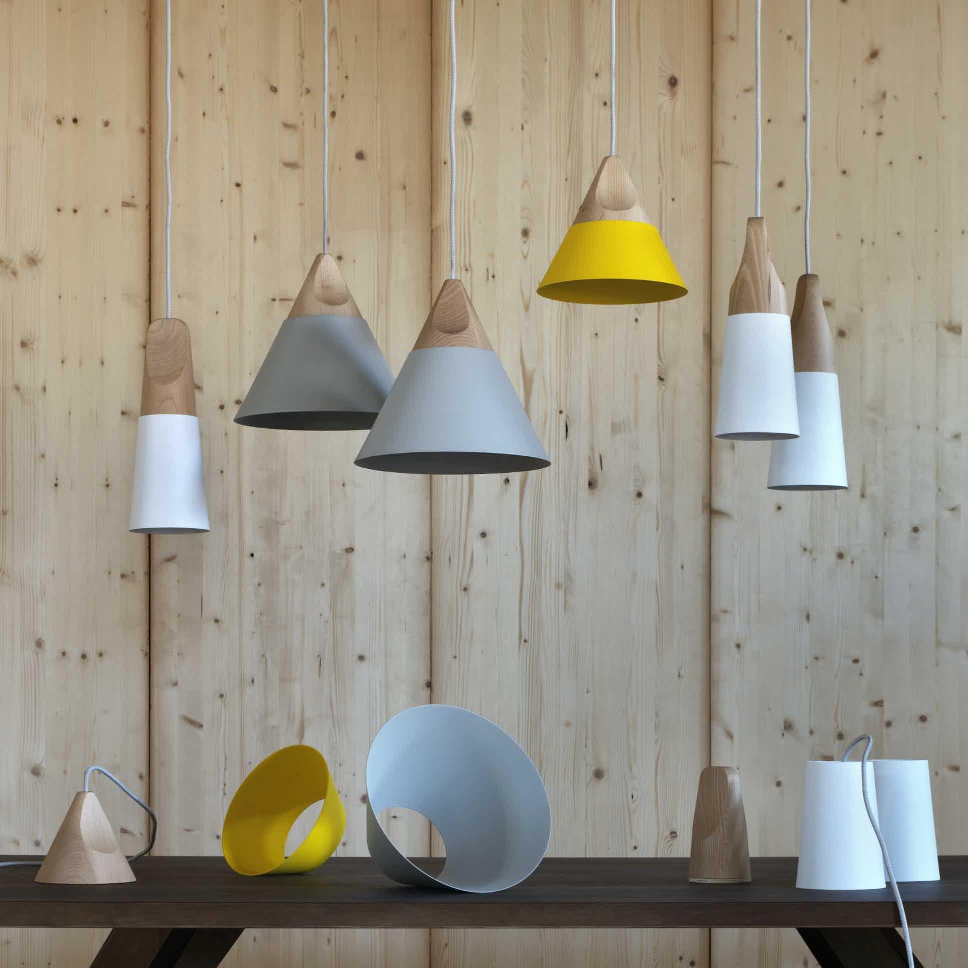 Miniforms Slope Pendant Group Haute Living