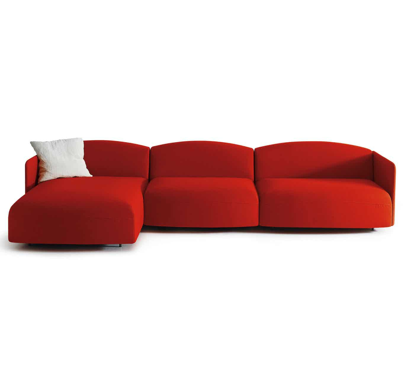 Arflex Red Soft Beat Sofa Haute Living