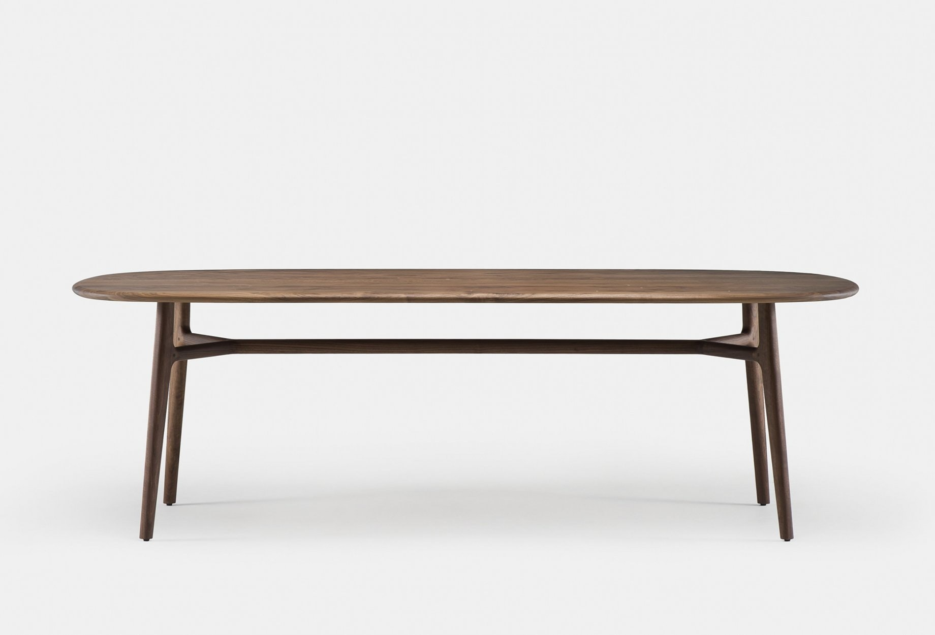 783 Solo Oblong Table By Neri Hu In Walnut  Frontweb 1840X1250
