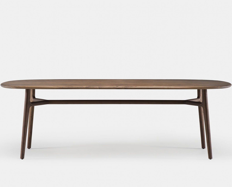 783 Solo Oblong Table By Nerihu In Walnut   Frontweb 1840X1250