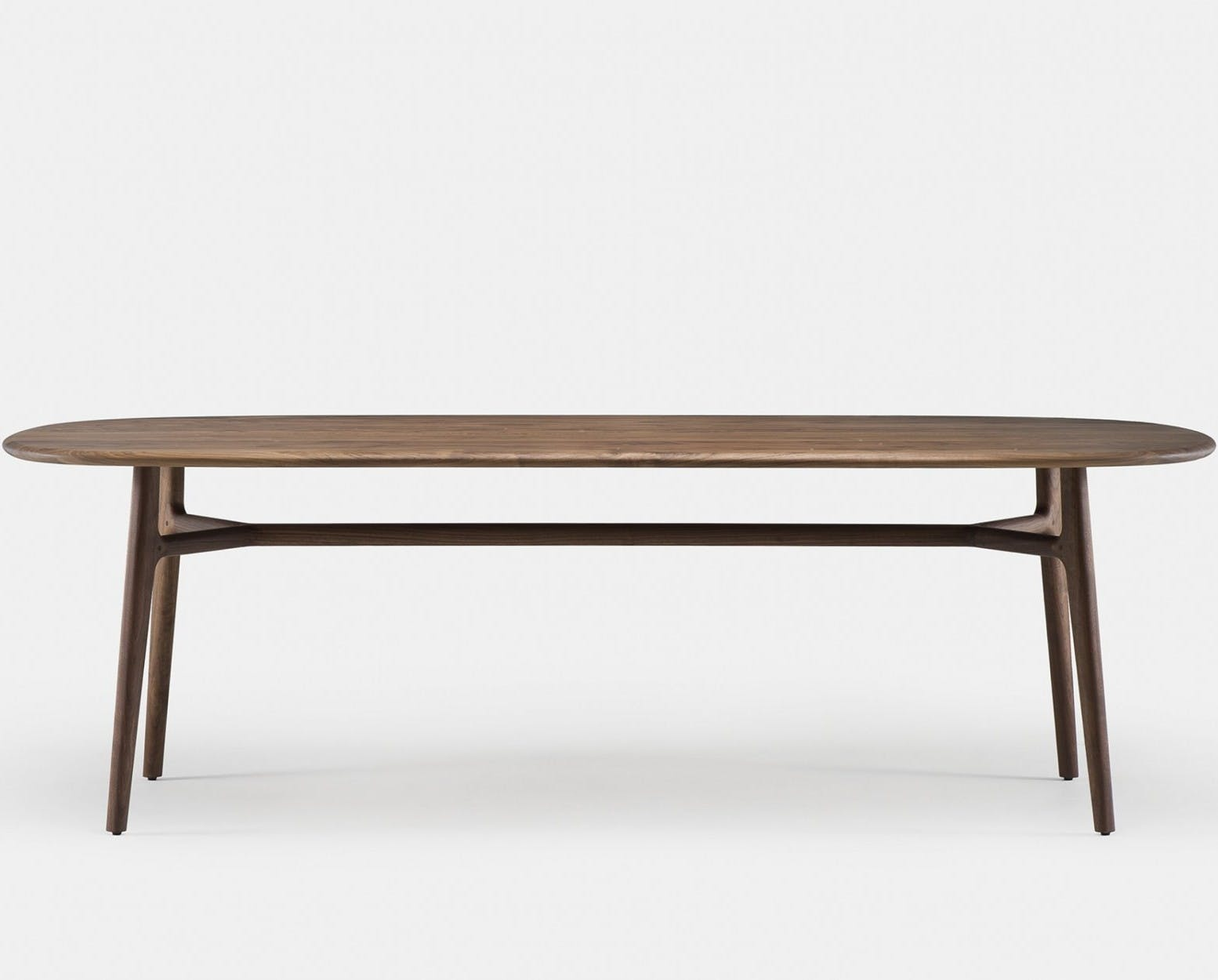 783 Solo Oblong Table By Nerihu In Walnut   Frontweb 1840X1250