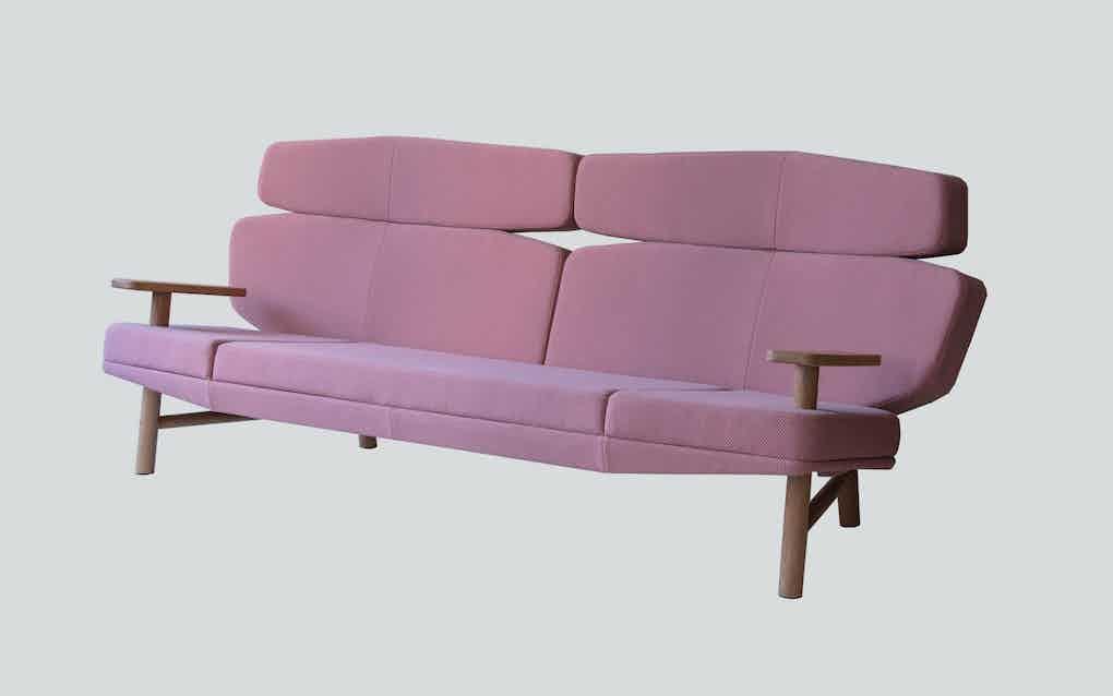 Scp furniture sonar sofa haute living