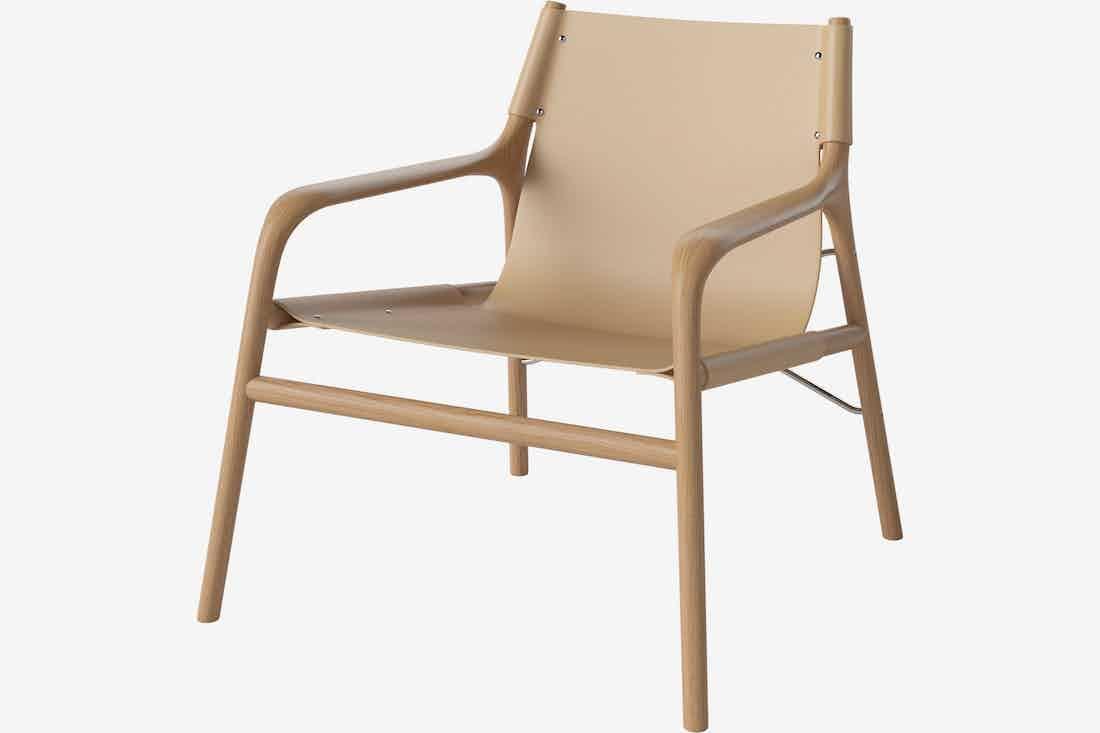 Bolia Soul Lounge Chair Angle