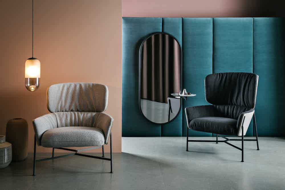 Sp01 design caristo highback armchair insitu haute living