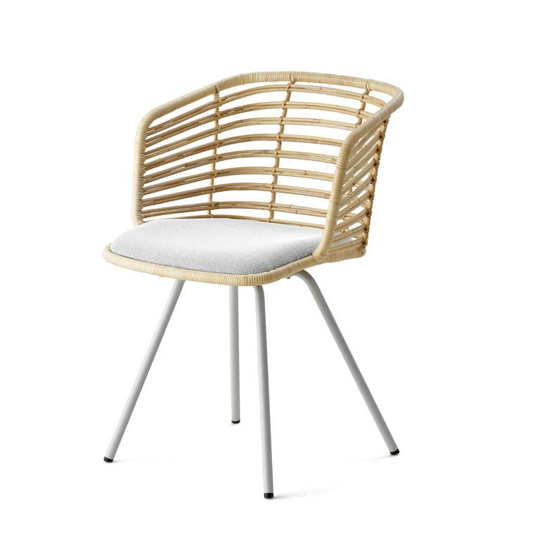 Spin Chair Rattan Natural 7434 Swru