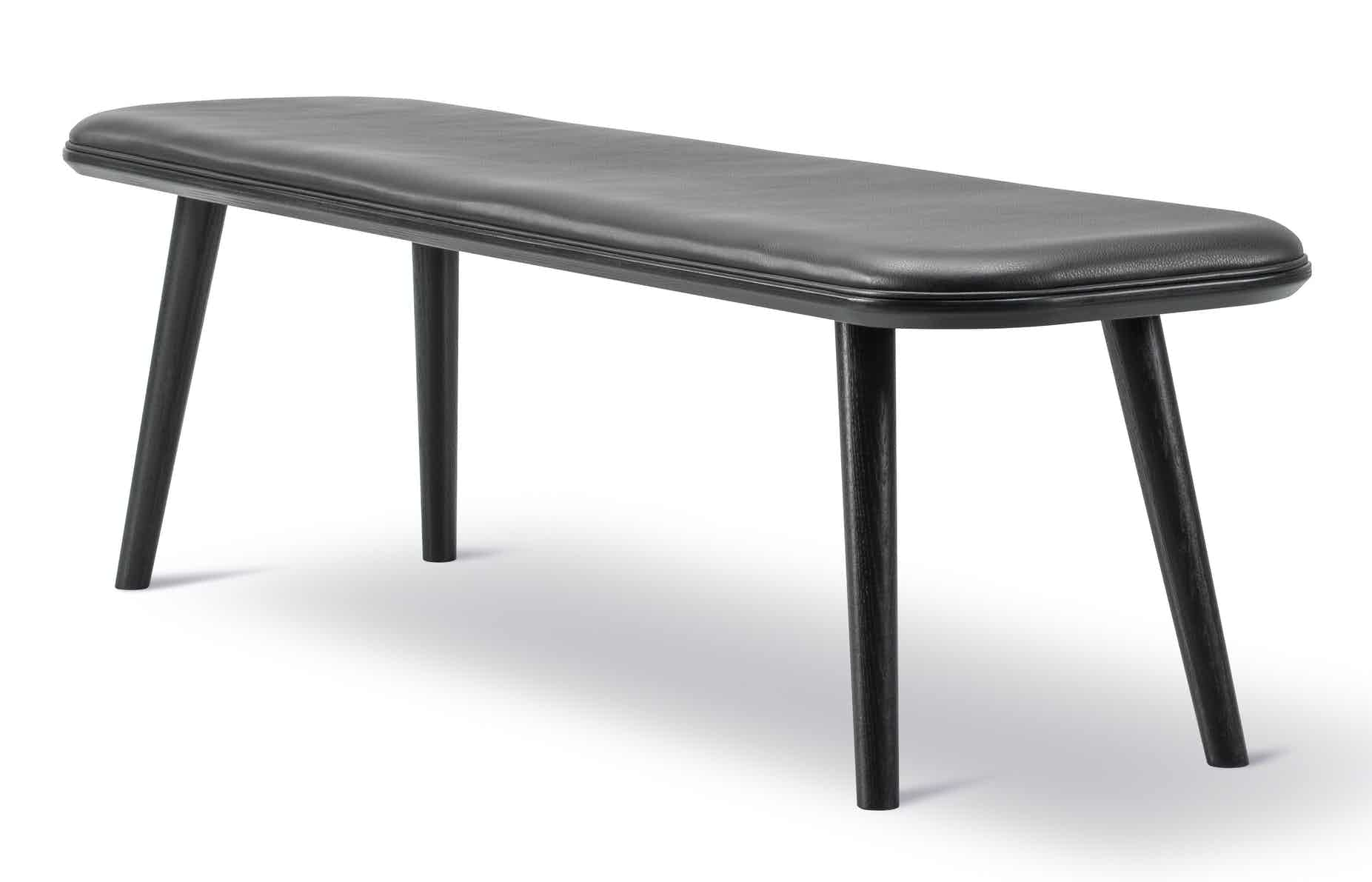 Fredericia Furniture Spine Wood Bench Angle Haute Living