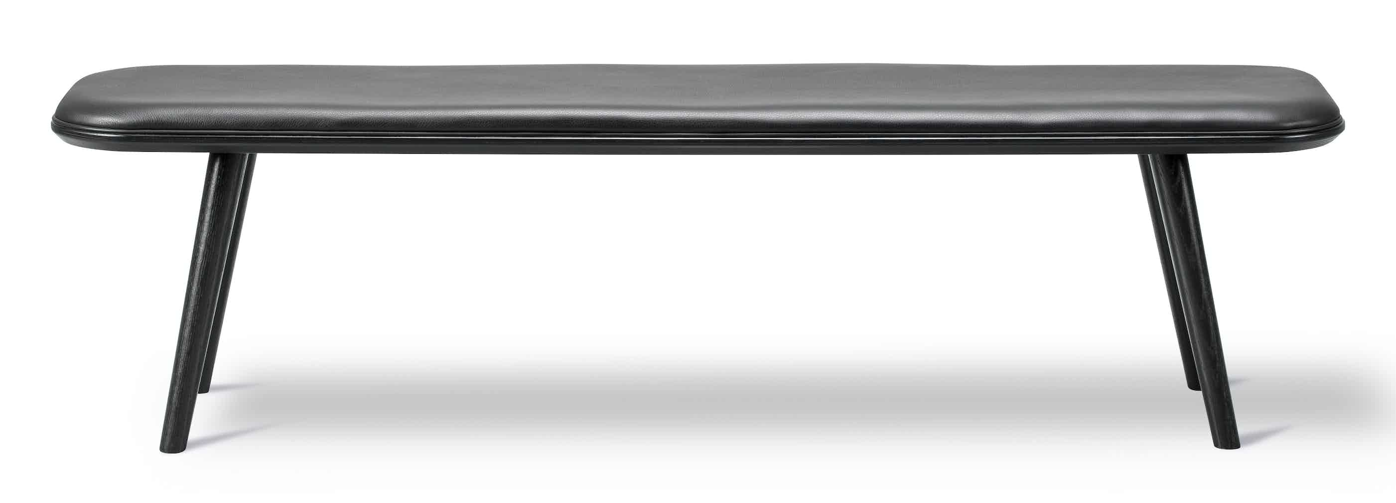 Fredericia Furniture Spine Wood Bench Front Haute Living