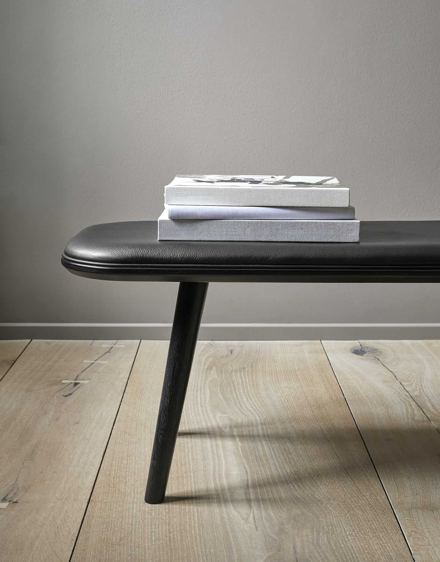 Fredericia Furniture Spine Wood Bench Insitu Detail Haute Living