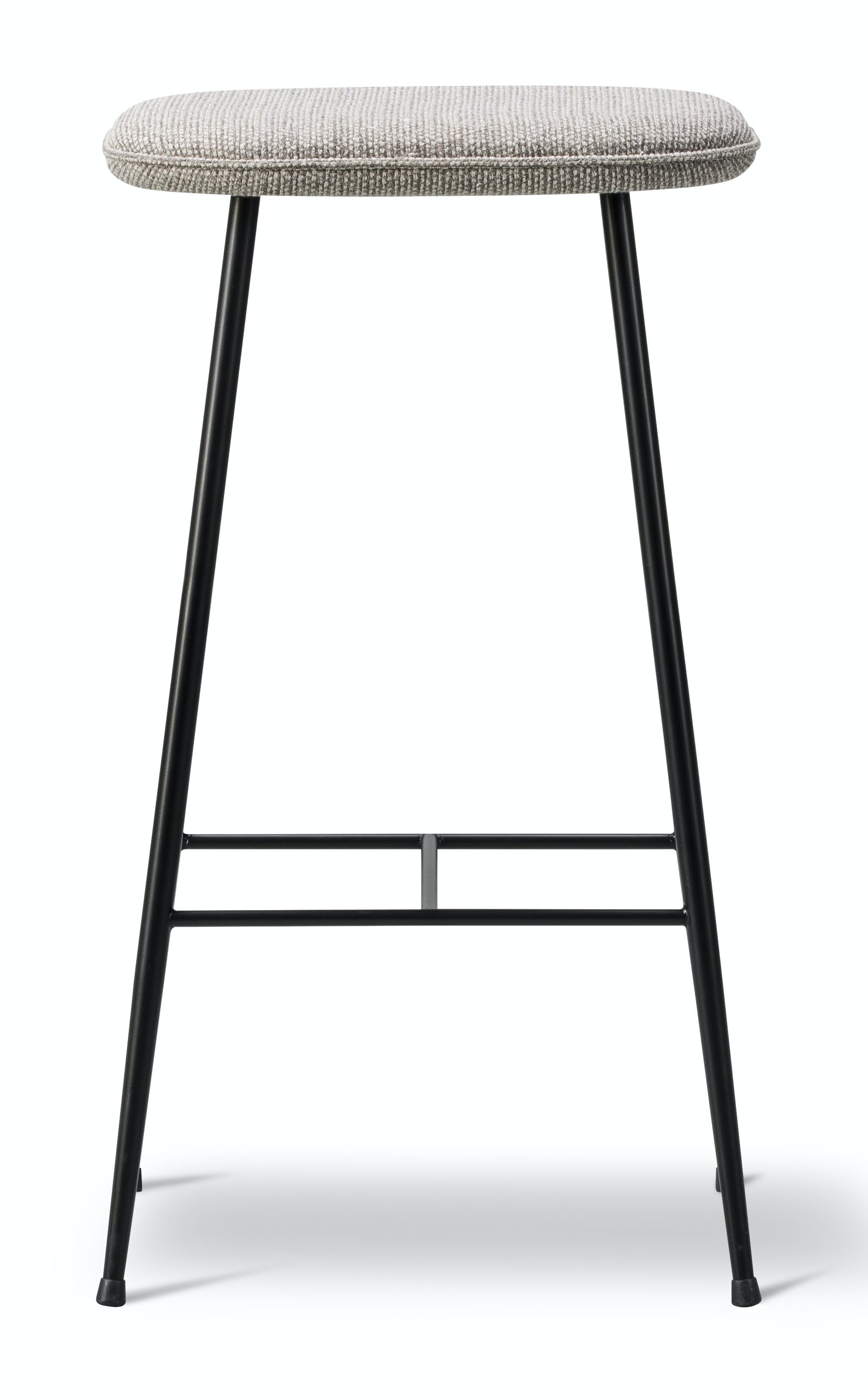 Fredericia Spine Metal Stool Front Haute Living
