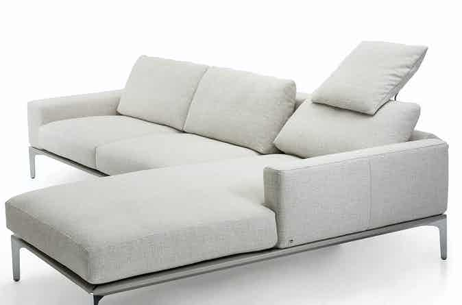 Jab Anstoetz Spirit Modular Sofa White Haute Living