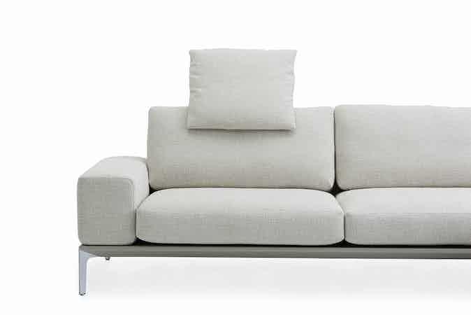 Jab Anstoetz White Spirit Modular Sofa Side Haute Living