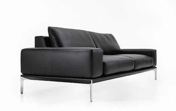 Jab Anstoetz Black Spirit Sofa Angle Haute Living