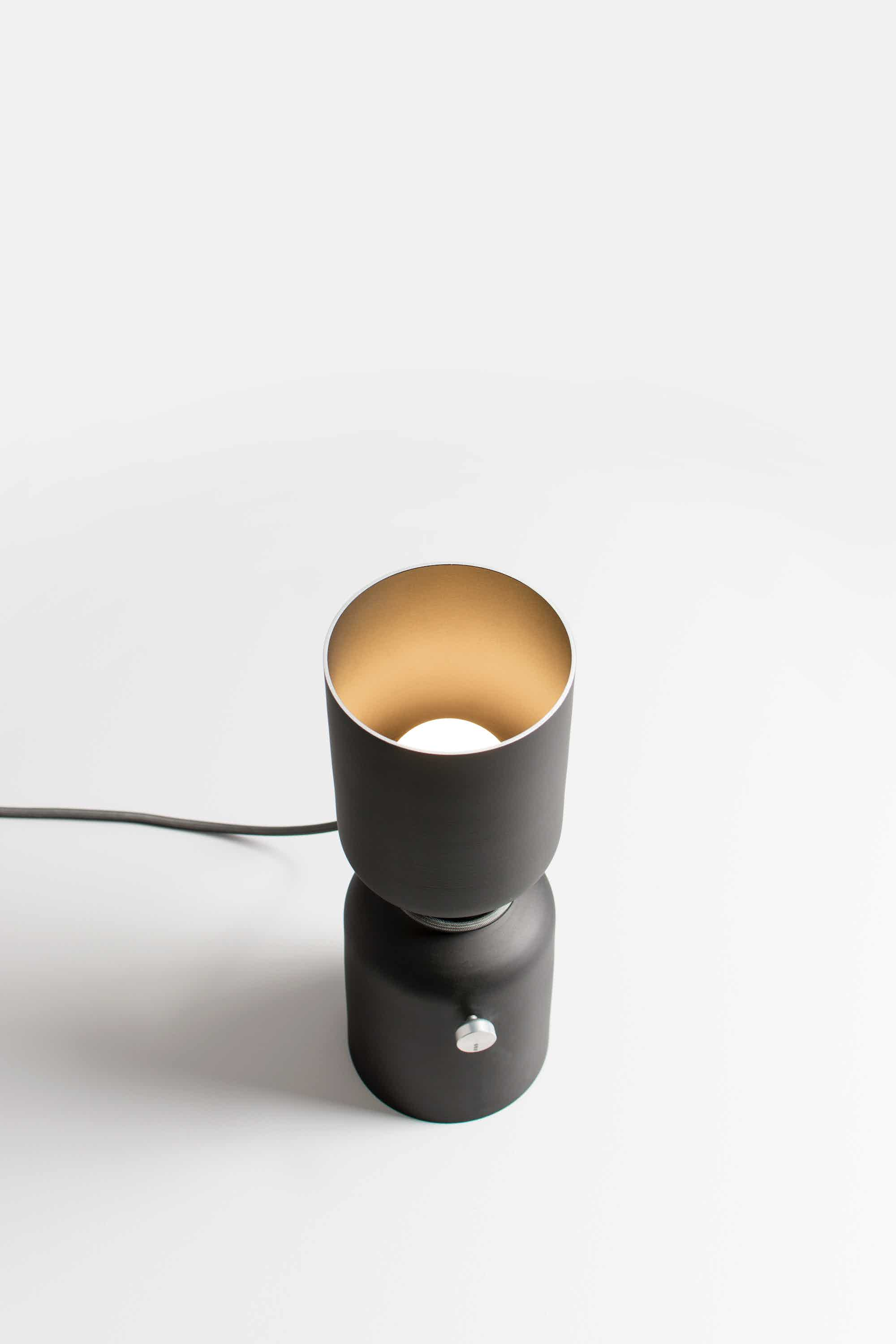 Andlight Spotlight Volumes Table lamp by lukas peet haute living