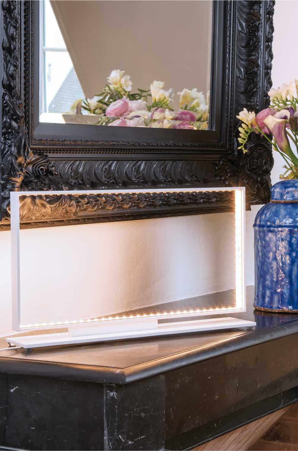 Le-deun-luminaires-square-table-lamp-white-insitu-haute-living
