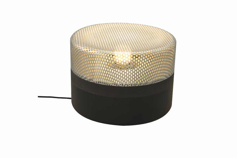 Pulpo furniture steel drop lamp chrome black haute living