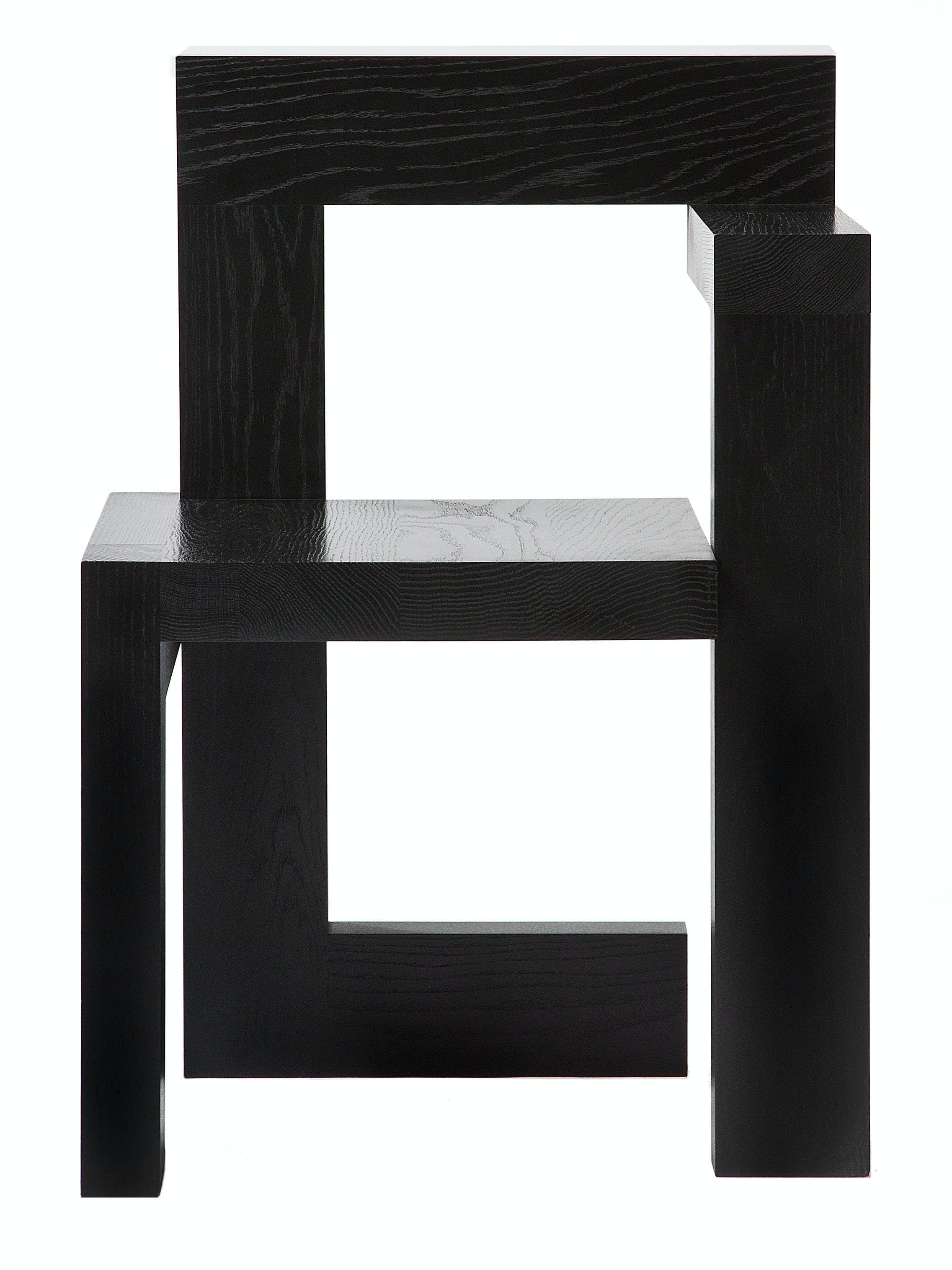 Rietveld Steltman Oak Black Front
