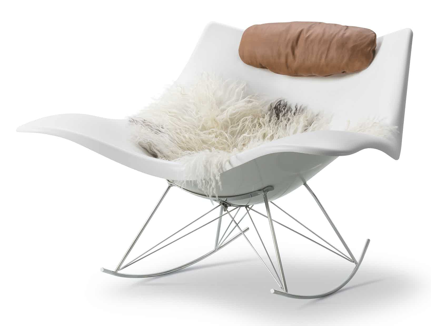 Fredericia Furniture Stingray Chair Angle Haute Living