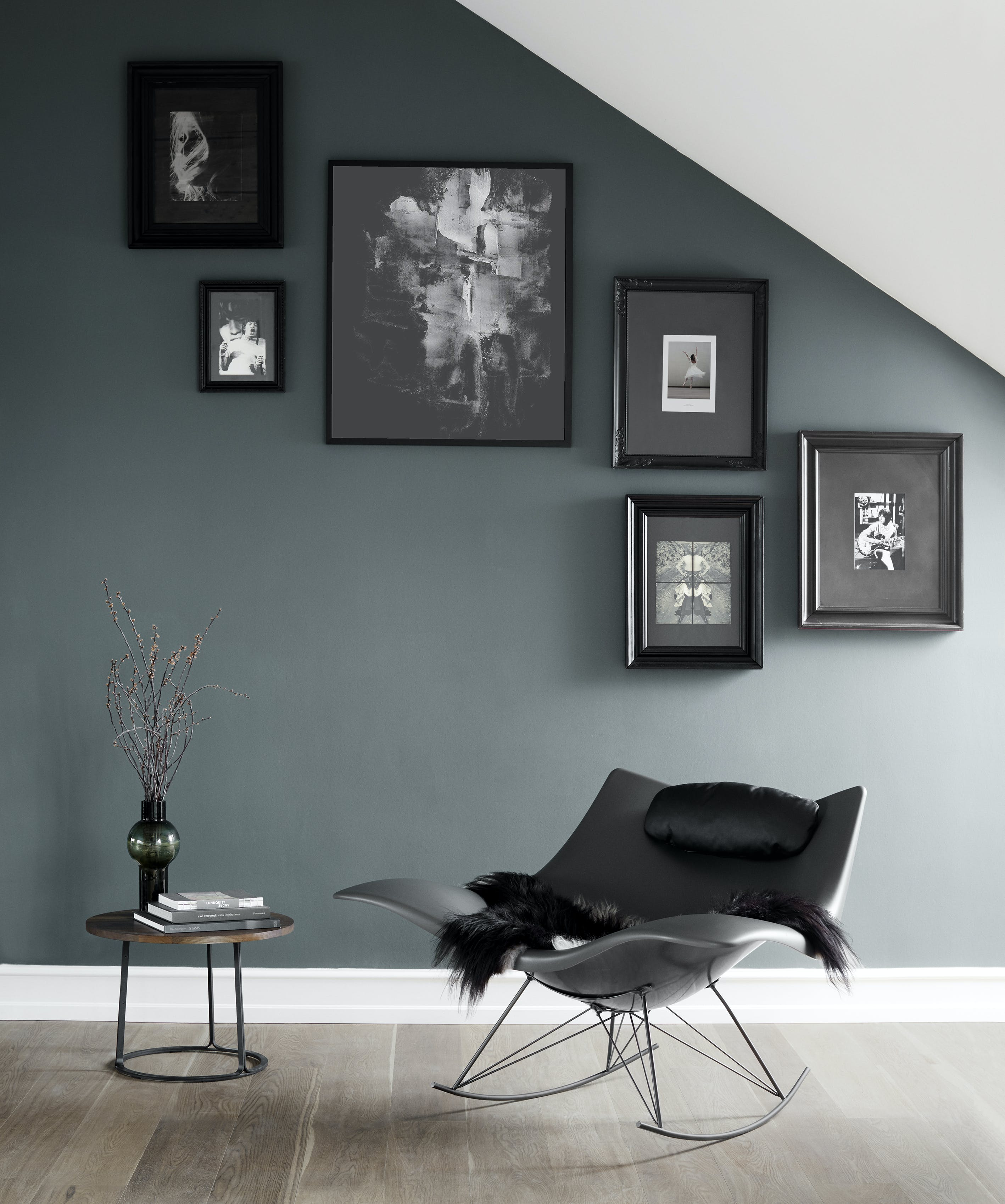 Fredericia Stingray Chair Insitu Black Haute Living