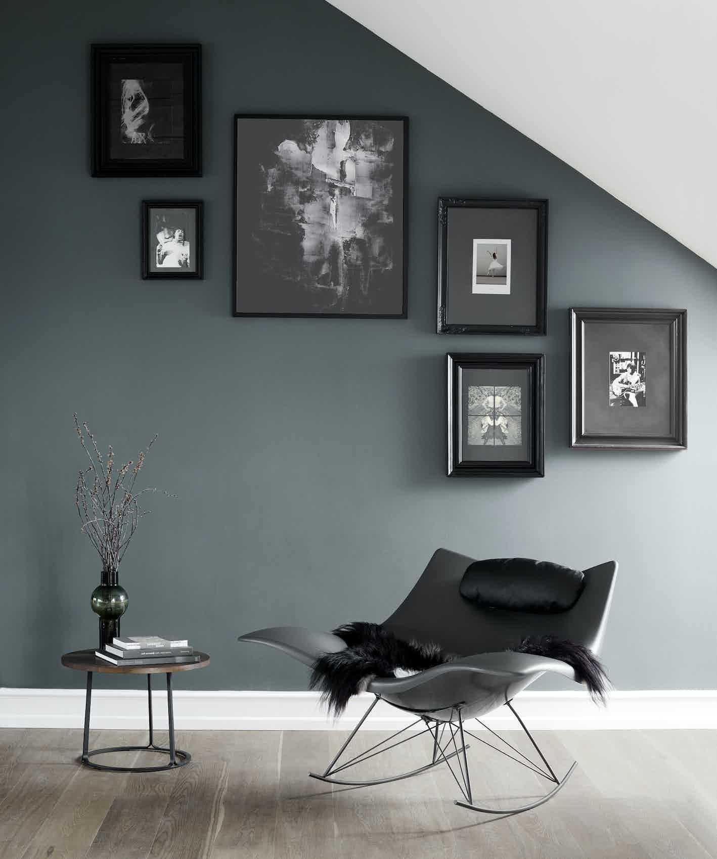 Fredericia Stingray Chair Insitu Black Haute Living