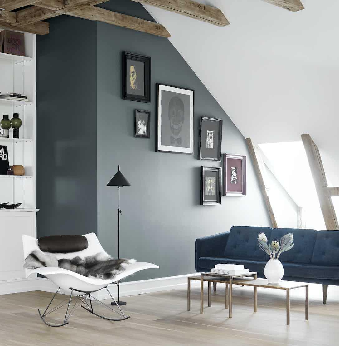 Fredericia Stingray Chair Insitu White Haute Living