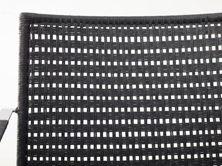 Paper Yarn Flat Black Straw
