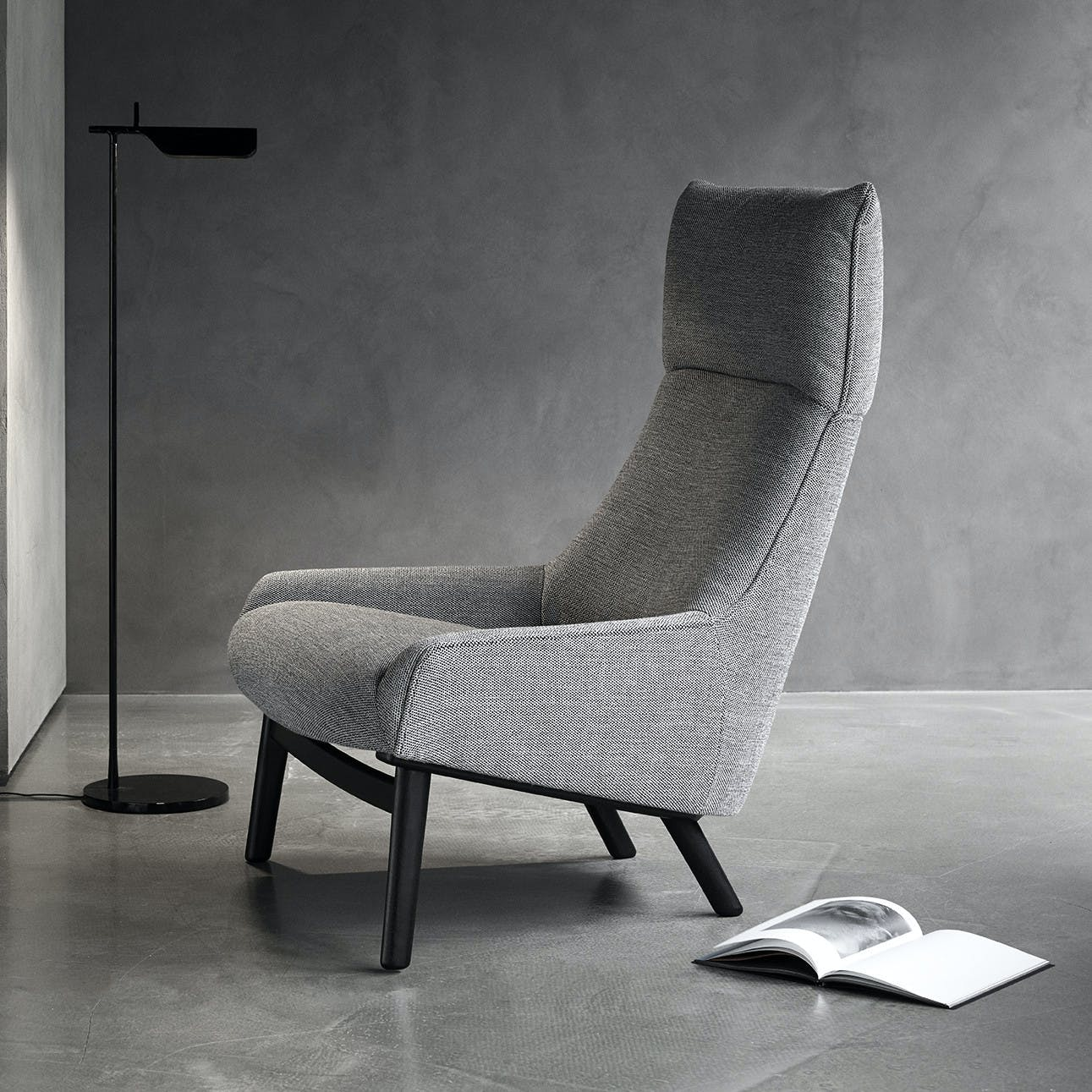 Wendelbo-grey-sunday-chair-institu-haute-living