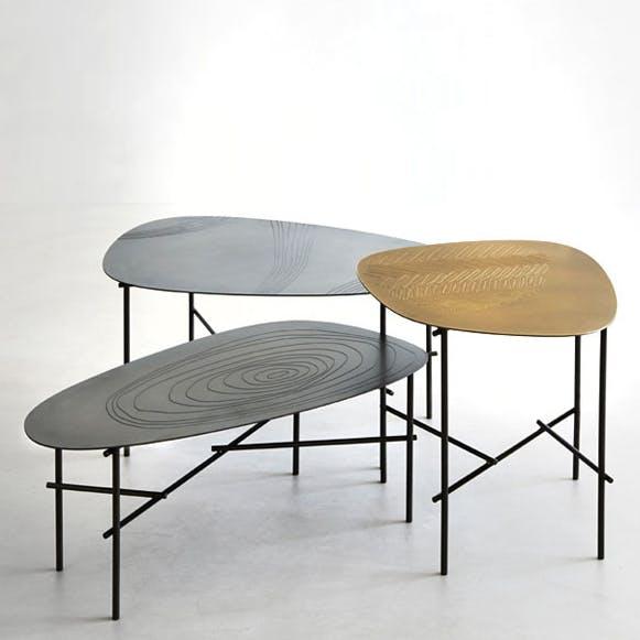 De Castelli Syro Tables Trio Front Haute Living Thumbnail