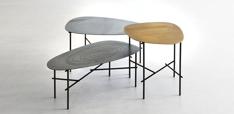 De Castelli Syro Tables Trio Front Haute Living