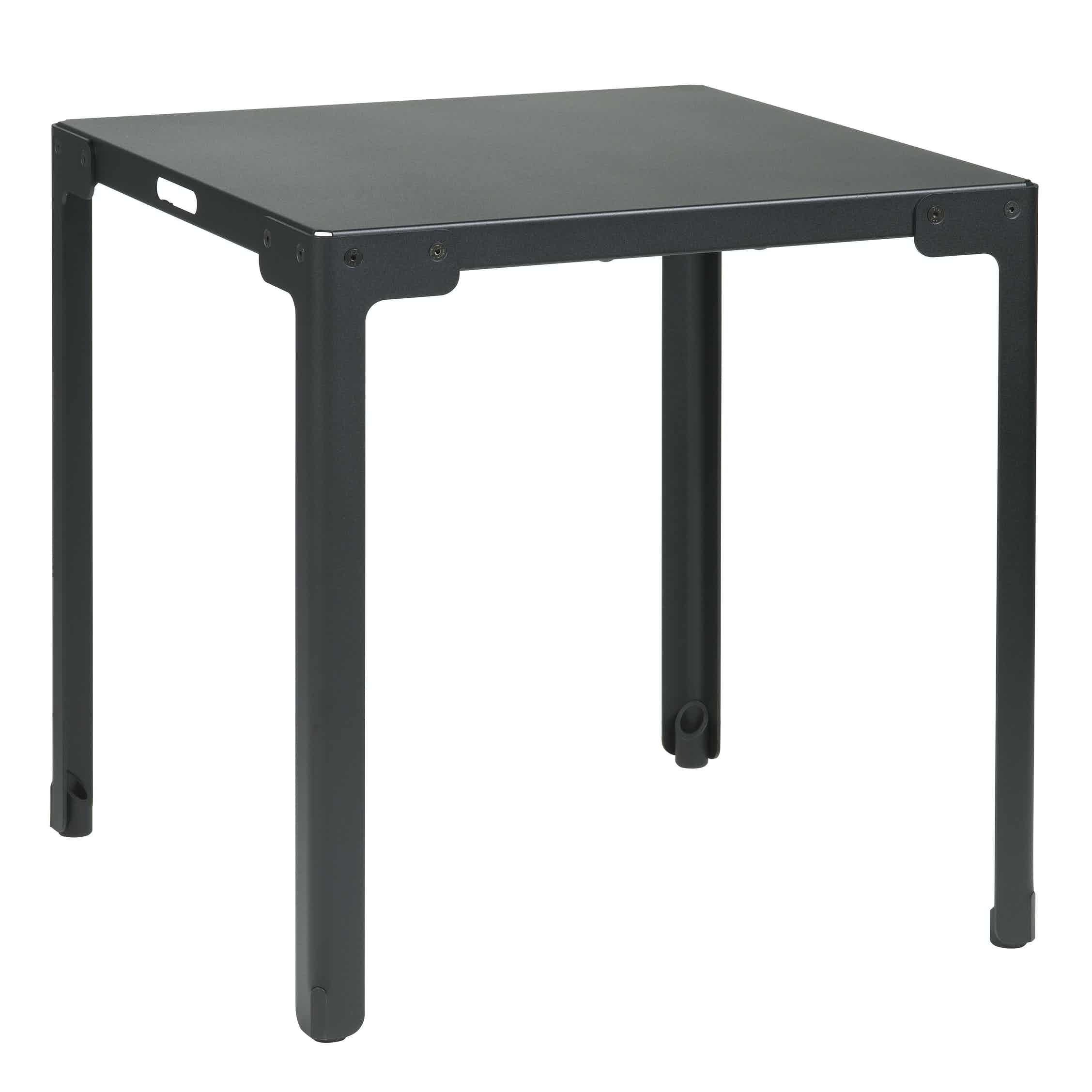 Functionals Black Square T Table Haute Living