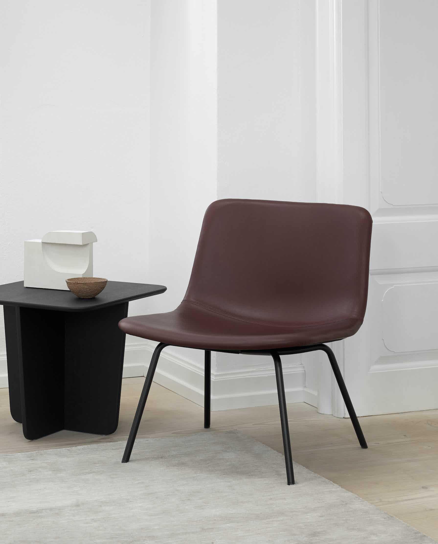 Fredericia Furniture Tableau Side Table Insitu Single Haute Living