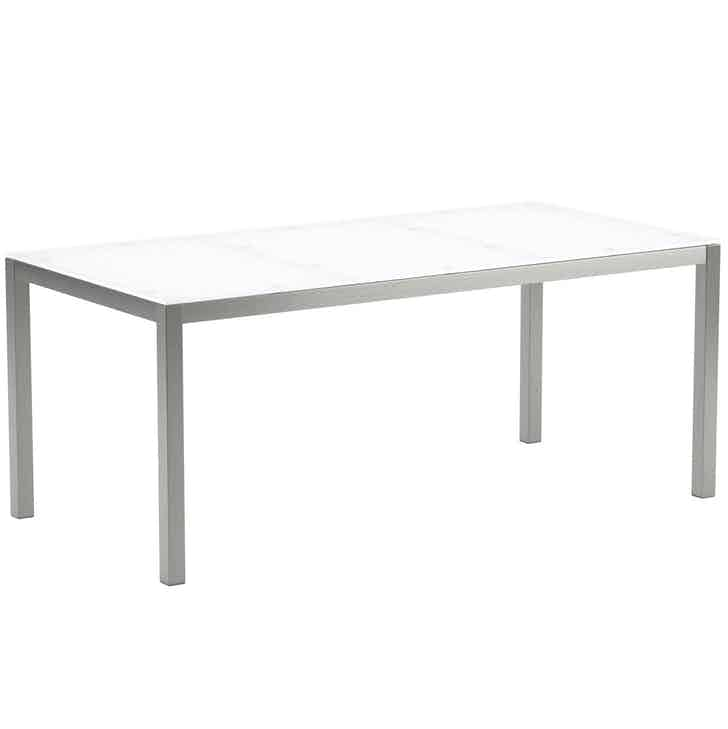 Royal Botania Taboela Table Silver White2 Haute Living