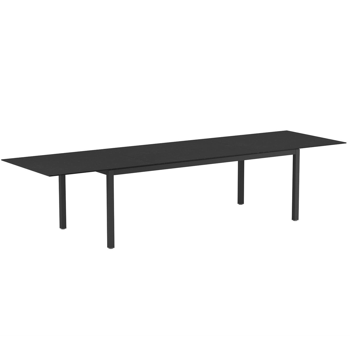 Royal Botania Taboela Extendable Table Black Haute Living