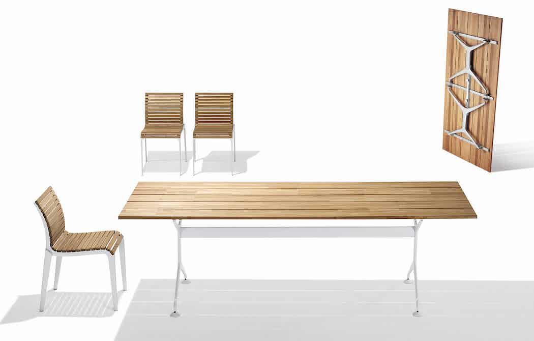 Teak Table 2