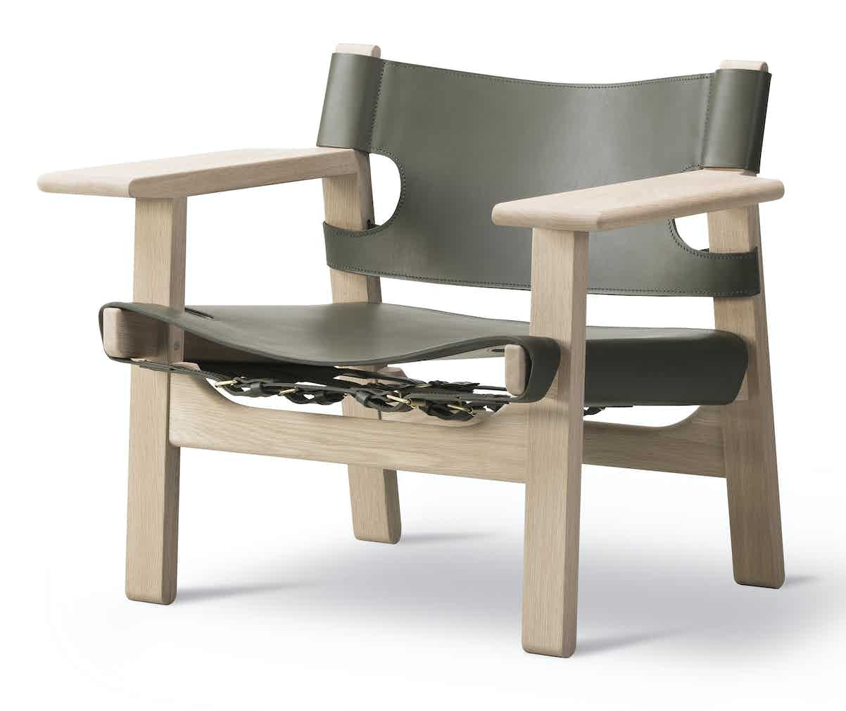 Fredericia Furniture Spanish Chair Angle Haute Living