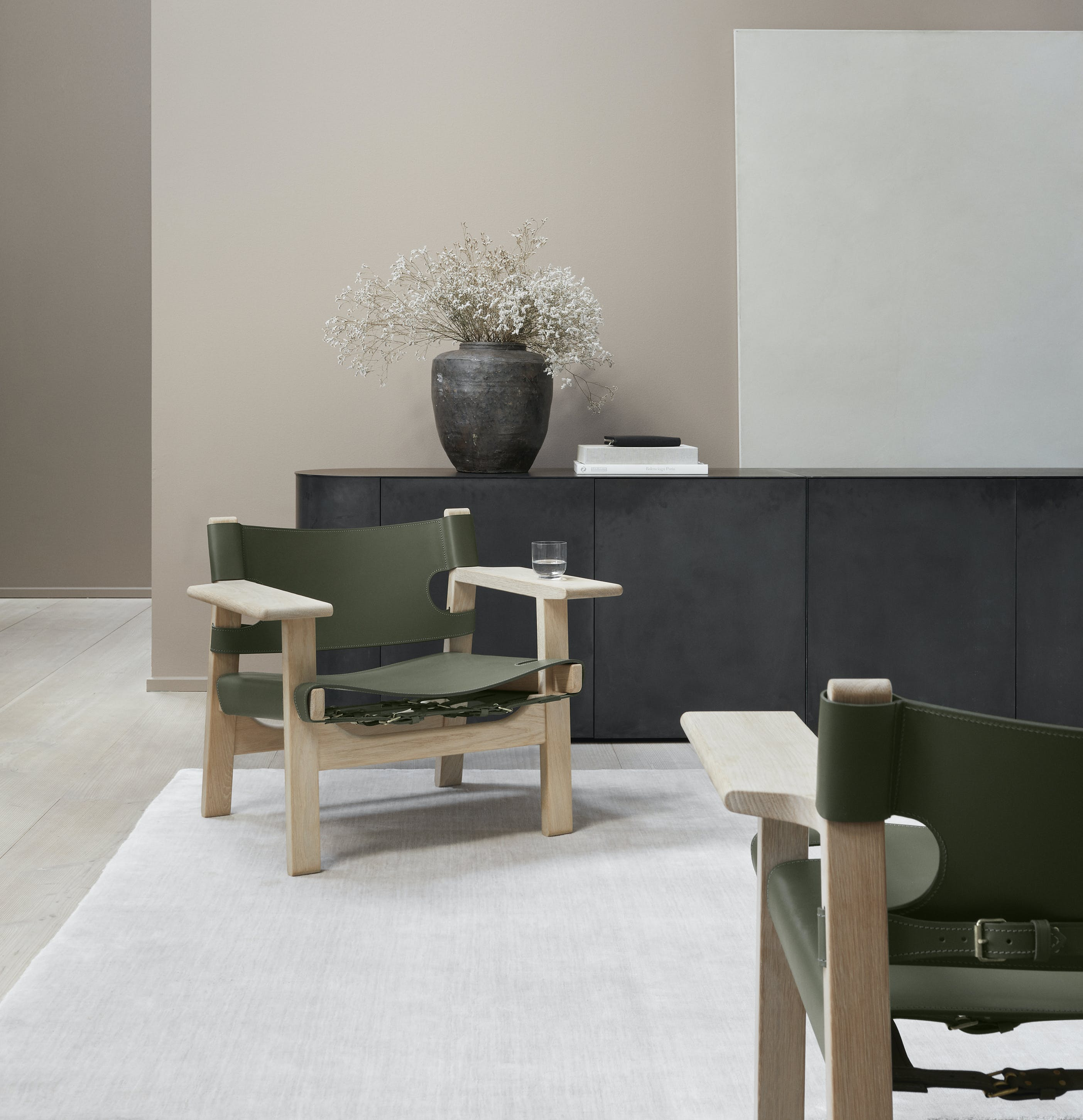 Fredericia Furniture Spanish Chair Insitu Black Haute Living