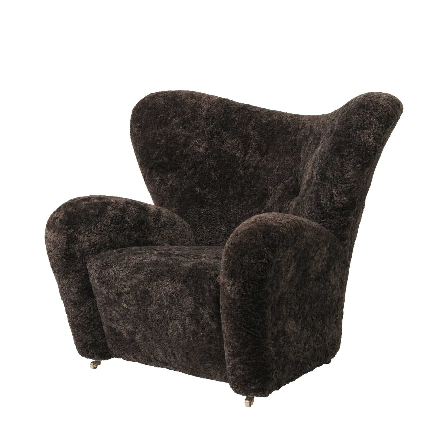 By lassen tired man chair espresso haute living