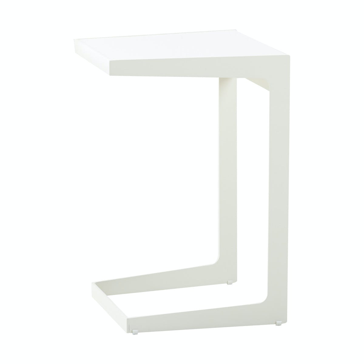 Time Out Sidetable White