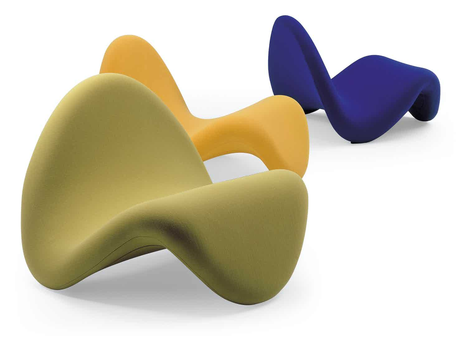 Artifort Tongue Chair Grouping